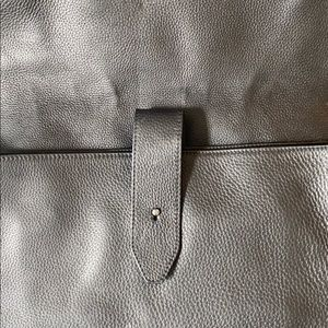 John Varvatos Bags - John Varvatos leather messenger bag